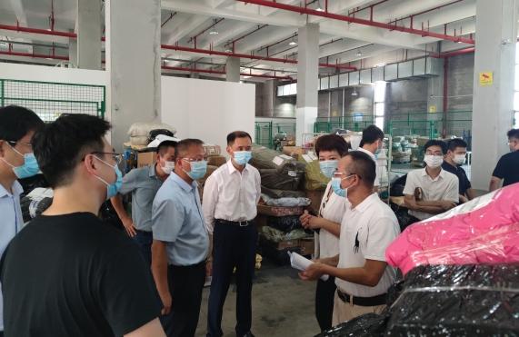 林长远副市长赴福州自贸片区开展节前安全生产检查并调研企业